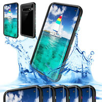 Waterproof Phone Case with Screen Protector For Samsung Galaxy S10 / S10 Plus