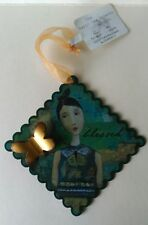 """The Kelly Rae Collection Hanging Blessed Plate 3.1/4"""" x 3.1/4"""" for Demdaco"""