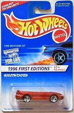 HOT WHEELS 1996 FIRST EDITIONS MUSTANG GT #1/12 W+