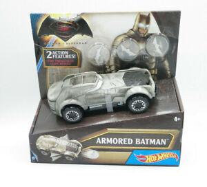 Hot Wheels DC Universe Armored Batman Vehicle NEW FREE SHIPPING