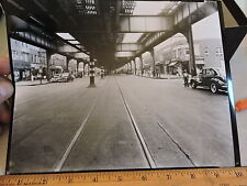 1944 Brighton Beach Ave. Looking West from 5th Brooklyn Nyc New York City Photo