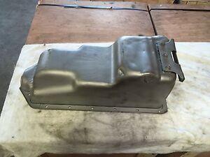 Original 1949 1950 1951 1952 1953 Flathead Ford Mercury Oil Pan 8BA Rear Sump