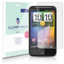 iLLumiShield Matte Screen Protector w Anti-Glare/Print 3x for HTC Desire HD