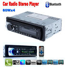 Bluetooth Car Stereo Audio Receiver In-Dash FM Radio MP3 Player USB/SD/AUX IPOD