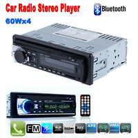 Voiture Bluetooth Autoradio stéréo Radio 1 Din in Dash Lecteur MP3 USB/SD AUX FM
