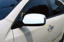Pour kia sorento 2010 - 2014 chrome wing mirror cover trim set-non voyant
