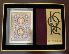 Icons Imperial Playing Card Signed Box Sample Lotrek Oath  - Liturgy Damask Silk