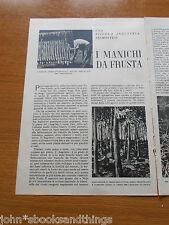 1946 I MANICHI DA FRUSTA ANTICA INDUSTRIA PIEMONTESE PIEMONTE ANTICO MESTIERE