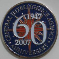 CENTRAL INTELLIGENCE 60TH ANNIVERSARY 1947-2007 NICKEL FINISH