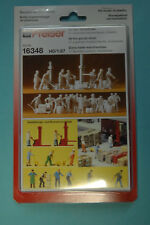 Preiser 16348 à la Hangar à marchandises 21 figurines non-peintes HO NEUF