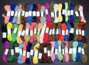 59x Needlepoint/Embroidery THREAD APPLETON Crewel weight wools skeins-JK56