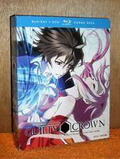 Guilty Crown: The Complete Series (Blu-ray/DVD, 2016, 8-Disc Set) anime action N
