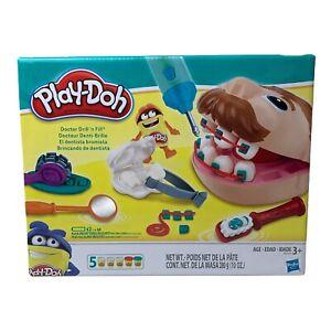 New Play Doh Drill N Fill Dentist Set Doctor Playset Kids Toy NIB