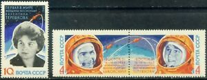 Russia-USSR-1963 The first group flight into space-2. MNH