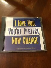 CD Compact Disc I Love You, You're Perfect, Now Change Musical Revue