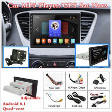 """9"""" 1Din Android 8.1 Coche GPS SAT Navegador MP5 reproductor estéreo radio + cámara trasera"""