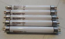 5 x Osram Sylvania 4w T5 F4T5/CW Cool White 4200k 6 inch Fluorescent Tube Light