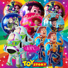 TOY STORY SET BALLOON balloons BIRTHDAY PARTY LATEX  CUPCAKE TOPPERS JESSIE