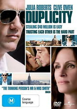 Duplicity - Crime/ Thriller / Espionage - Julia Roberts, Clive Owen - NEW DVD