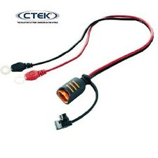CTEK Battery Charger Quick Connector 8mm Eye Terminals for 800mA to 10A Chargers