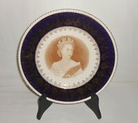 Vintage Ambassador Ware Simpsons Queen Elizabeth II Coronation Commemorate Plate