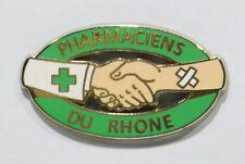 PINS MEDECINE PHARMACIE PHARMACIENS DU RHONE 69 SOIN SANTE A. BERTRAND