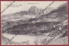 BERGAMO BRANZI 13 LAGHI GEMELLI - VAL BREMBANA Cartolina viaggiata 1924