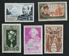 1949- 1953  5 stamps from French Algeria   MH CV £13+