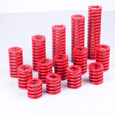16mm OD Medium Load Compression Stamping Mould Die Spring 8mm ID Red alloy steel
