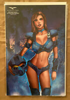 """SOLD OUT: BELLE BEAST HUNTER #1 - SCI-FI BOX """"HALO BLUE"""" COSPLAY EXCLUSIVE"""