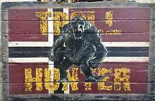 Peinture Troll Hunter sur bois de palette recyclé