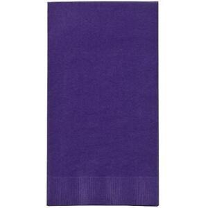 Purple Guest Towels 16 Count