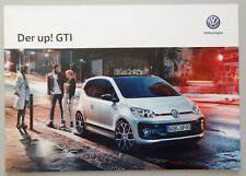 V14109 VOLKSWAGEN UP! GTI CATALOGUE - 09/18 - A4 - D