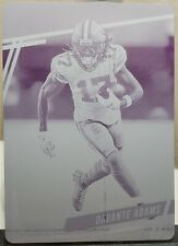 2020 Prestige Davante Adams Magenta Printing Plate 1/1 Green Bay Packers