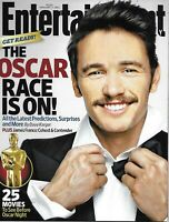 Entertainment Weekly Magazine Oscar Movie Race James Franco Natalie Portman 2011
