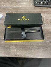 Cross ATX Rollerball Pen - Brushed Black