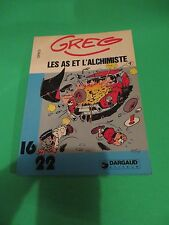 1981 Greg Les As Et L'Alchimiste Dargaud Edition 77 Page French Comic