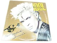 Billy Idol Whiplash Smile 1986 LP Chrysalis Vinyl Record album