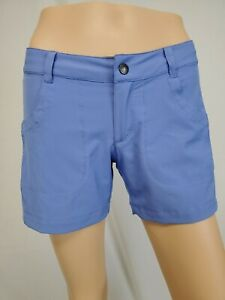 NEW PATAGONIA Happy Hike' Shorts Size 2 Violet Blue, NWT