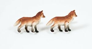 Red Fox Cufflinks--Foxes Forest Woodland Hunting Wildlife Nature Animal Dog