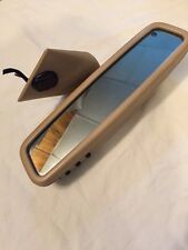 01-07 MERCEDES-BENZ W203 C240 C230 C320 INTERIOR REAR VIEW MIRROR W Tan COVER