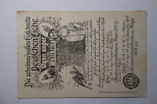 Ansichtskarte Militär 1.WK Propaganda  Deutsche Eiche  Kriegsende  1915