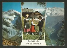 AD8387 Aosta - Provincia - Saluti da Gressoney - Vedute