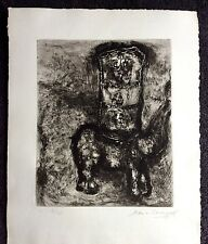 Original Chagall Signed/Numbered Etching Limited Edition