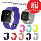 Replacement Band for Fitbit Versa 1 2 Lite Silicone Strap Wristband S L Size <br/> Add 3 to Cart !✅Buy 2 get 1 Free✅ Melbourne Stock ✅