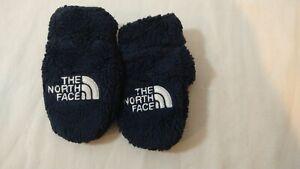 The North Face Baby Black Fleece Mittens XXS Deep Pile