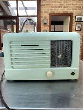 Vintage Bakelite Green Deco Australian Midlands Tube Valve oz Aussie Radio