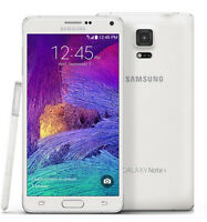 5.7-inch New Samsung Galaxy Note 4 SM-N910T - 32GB Smart phone (Unlocked)- White