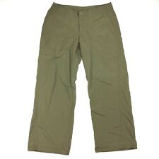 Patagonia Womens Size 8 Lightweight Nylon Capri Pants Hiking Camping Outdoor