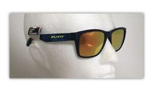 Rudy Project SPINHAWK Deep BLUE Sunglasses & Multilaser Orange lenses Ref:736